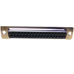 D-SUB Connector,37Pos,riveting,Gold plating