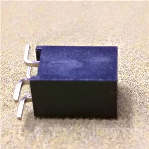 Female header connector,2.54X8.5mm,2X2Pos, SMT Y type PA6T