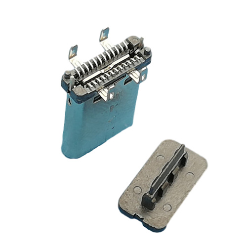 Type C Connector Male Head Upright Four Legs 06A