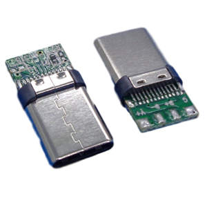 Type C Male Head Stamping Case C-2 Data Board Connector