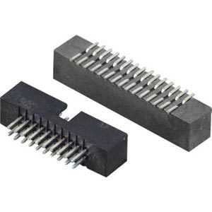 Vertical DIP/SMT Connector Box Header of 2.00mm pitch dua...