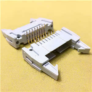 2.54mm Pitch, Connector, Ejector Header 16POS, SMT Gray